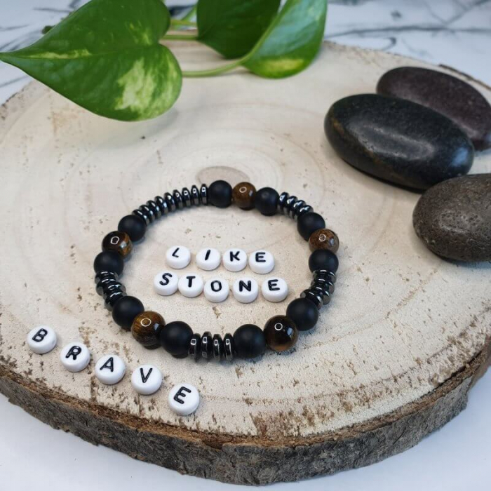 Bratara handmade din pietre semipretioase 4
