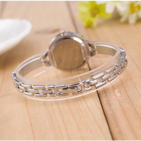 ceas dama elegant cu bratara metalica 4