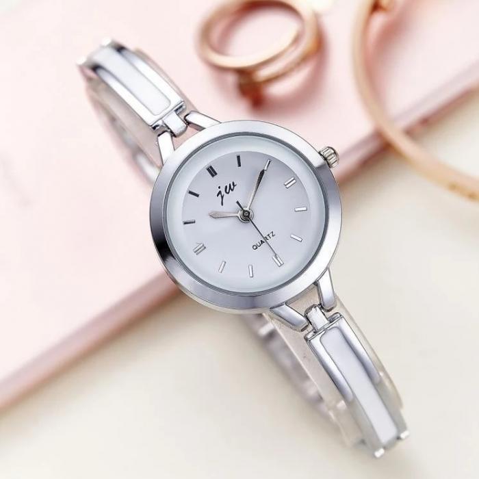 ceas dama elegant cu bratara metalica 6