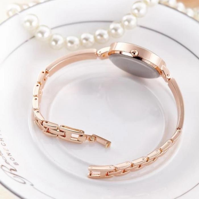 ceas dama elegant cu bratara metalica [4]