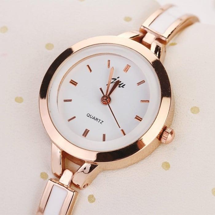 ceas dama elegant cu bratara metalica [0]
