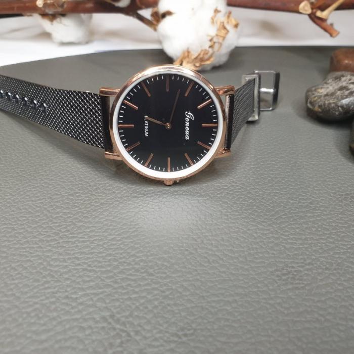 ceas dama elegant, curea silicon 2