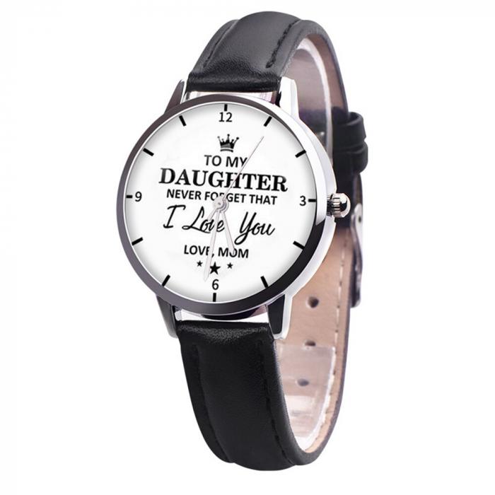ceas dama cu mesaj motivational 7