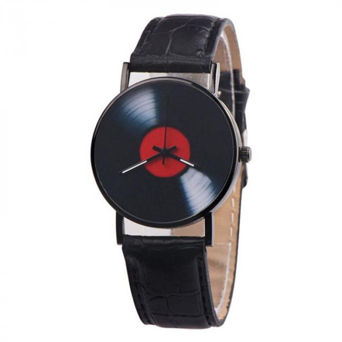 ceas vinil imprimat pe cadran 1