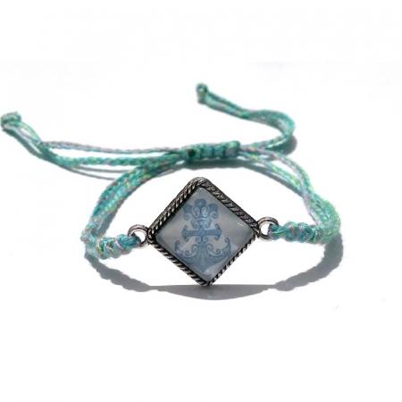 Bratara handmade charm ancora0