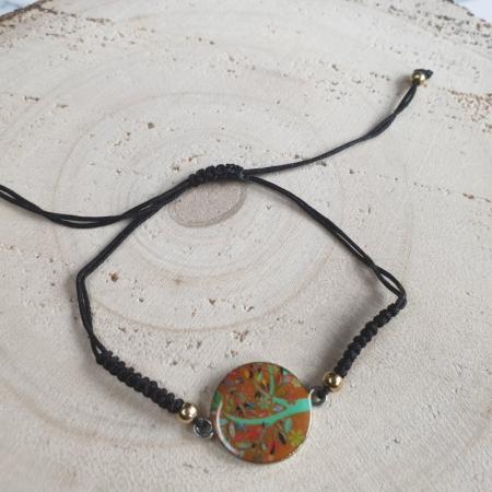 Bratara handmade charm C43