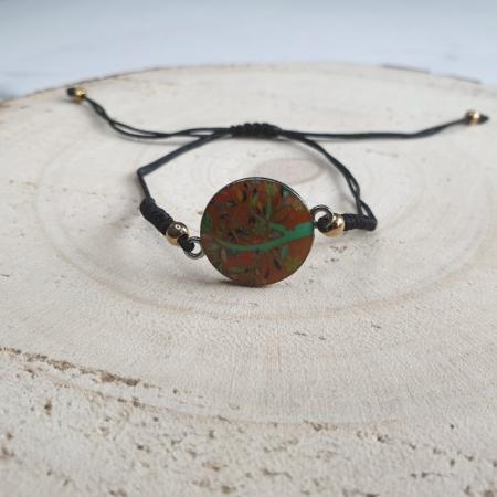 Bratara handmade charm C41