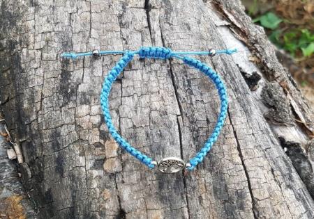 Bratara handmade cu charm Copacul Vietii1