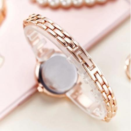 ceas dama elegant cu bratara metalica [3]