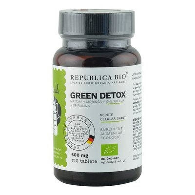 Green Detox (500 mg) supliment alimentar Ecologic Republica BIO, 120 tablete 0