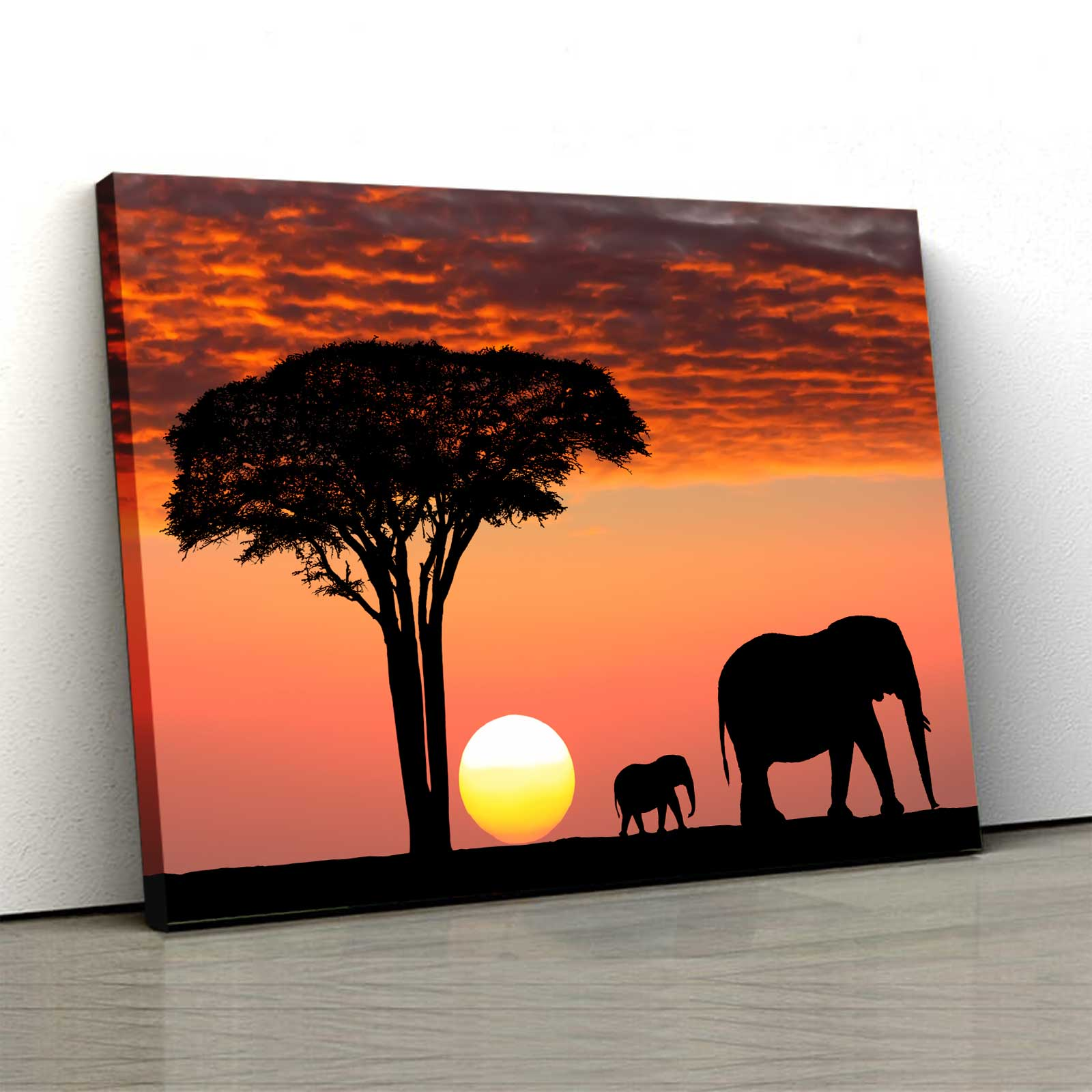 Tablou Canvas - Safari Life 0