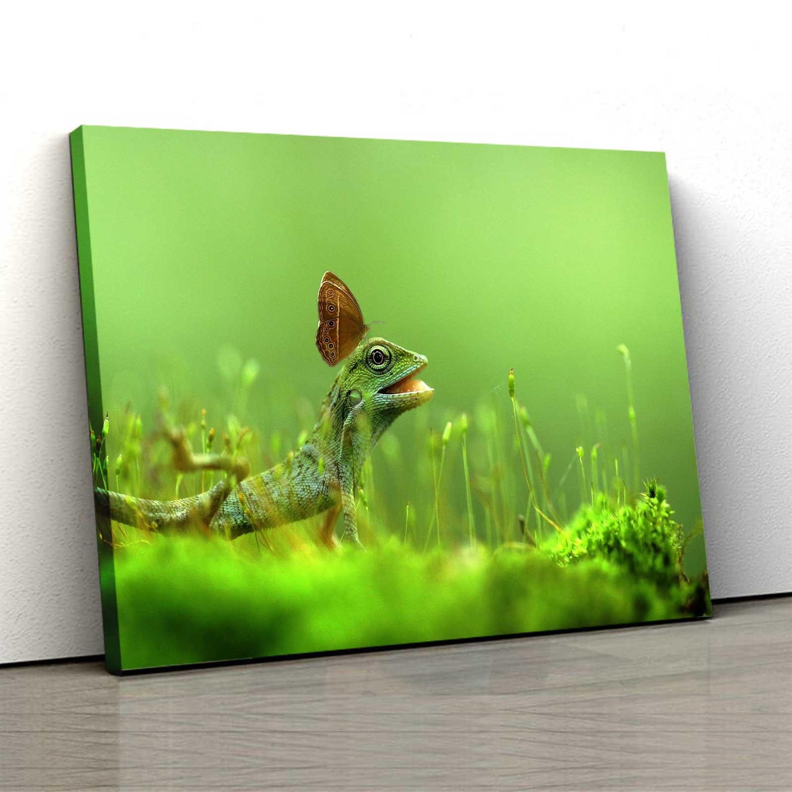 Tablou Canvas - Lizard [0]