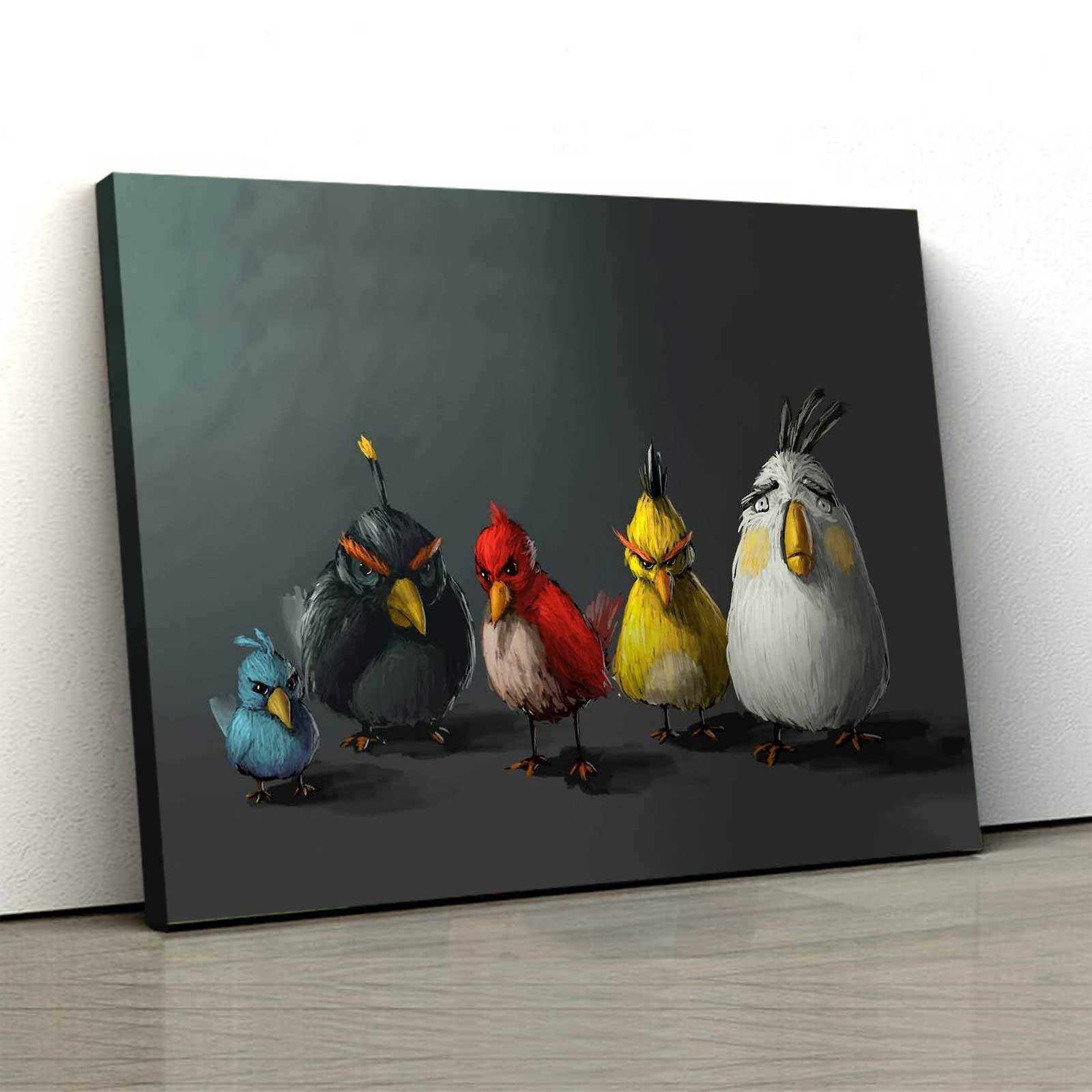 Tablou Canvas - Angry Birds 0