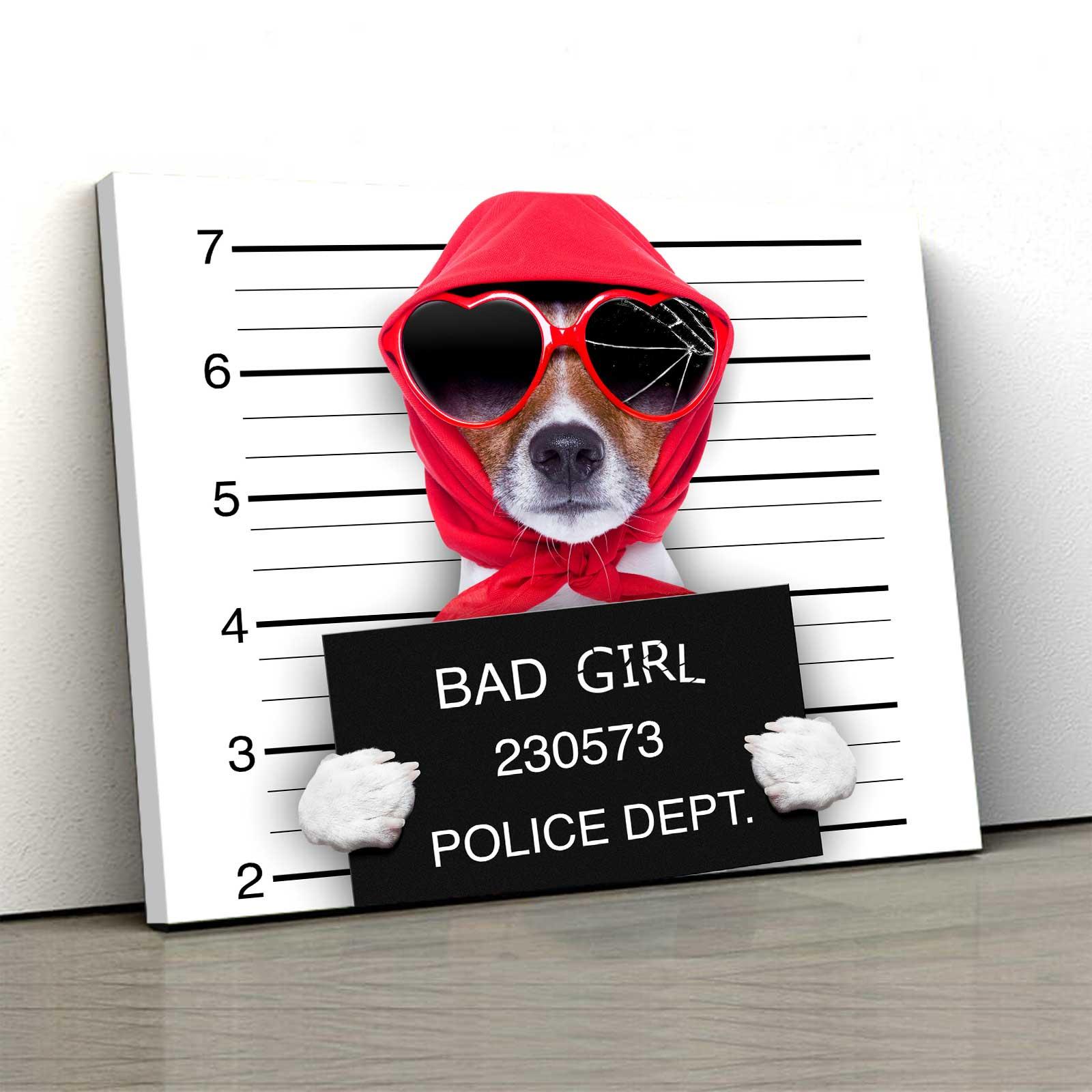 Tablou Canvas - Bad Dog 0
