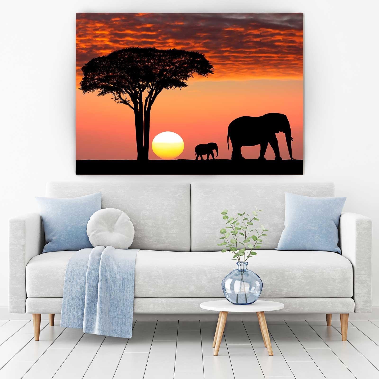 Tablou Canvas - Safari Life 1