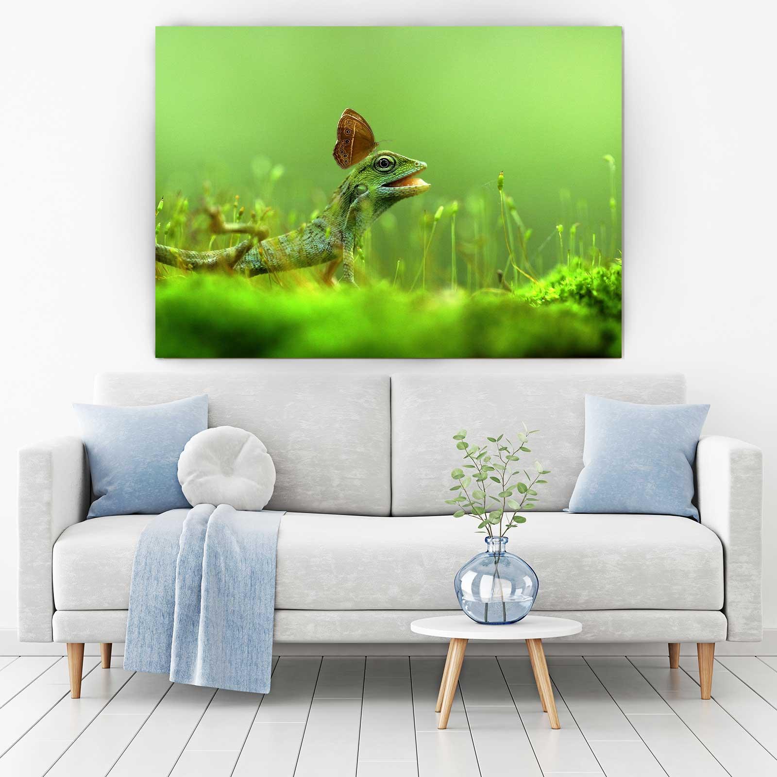 Tablou Canvas - Lizard [1]