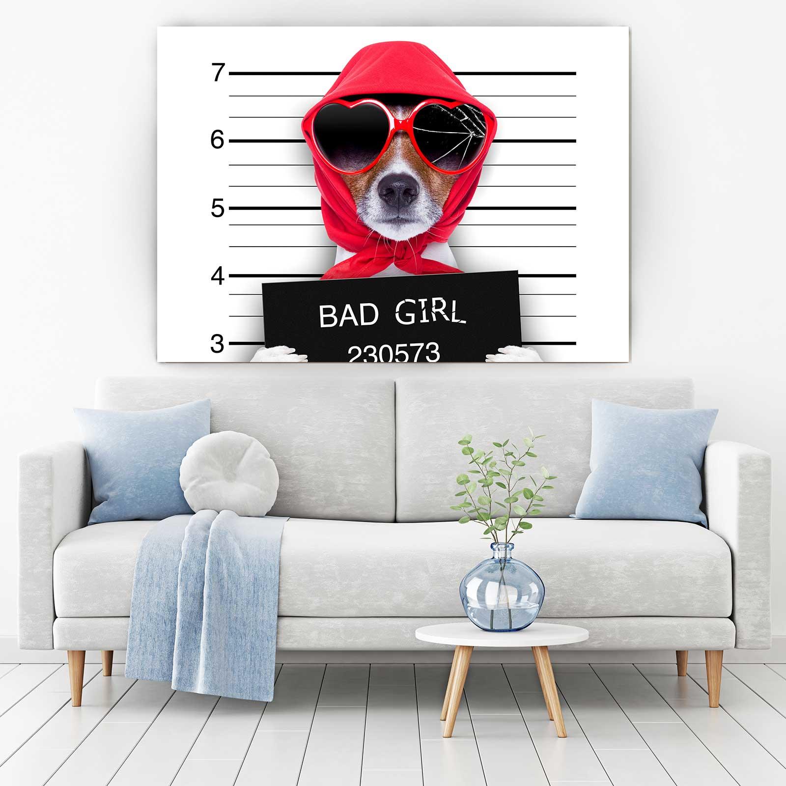 Tablou Canvas - Bad Dog 1