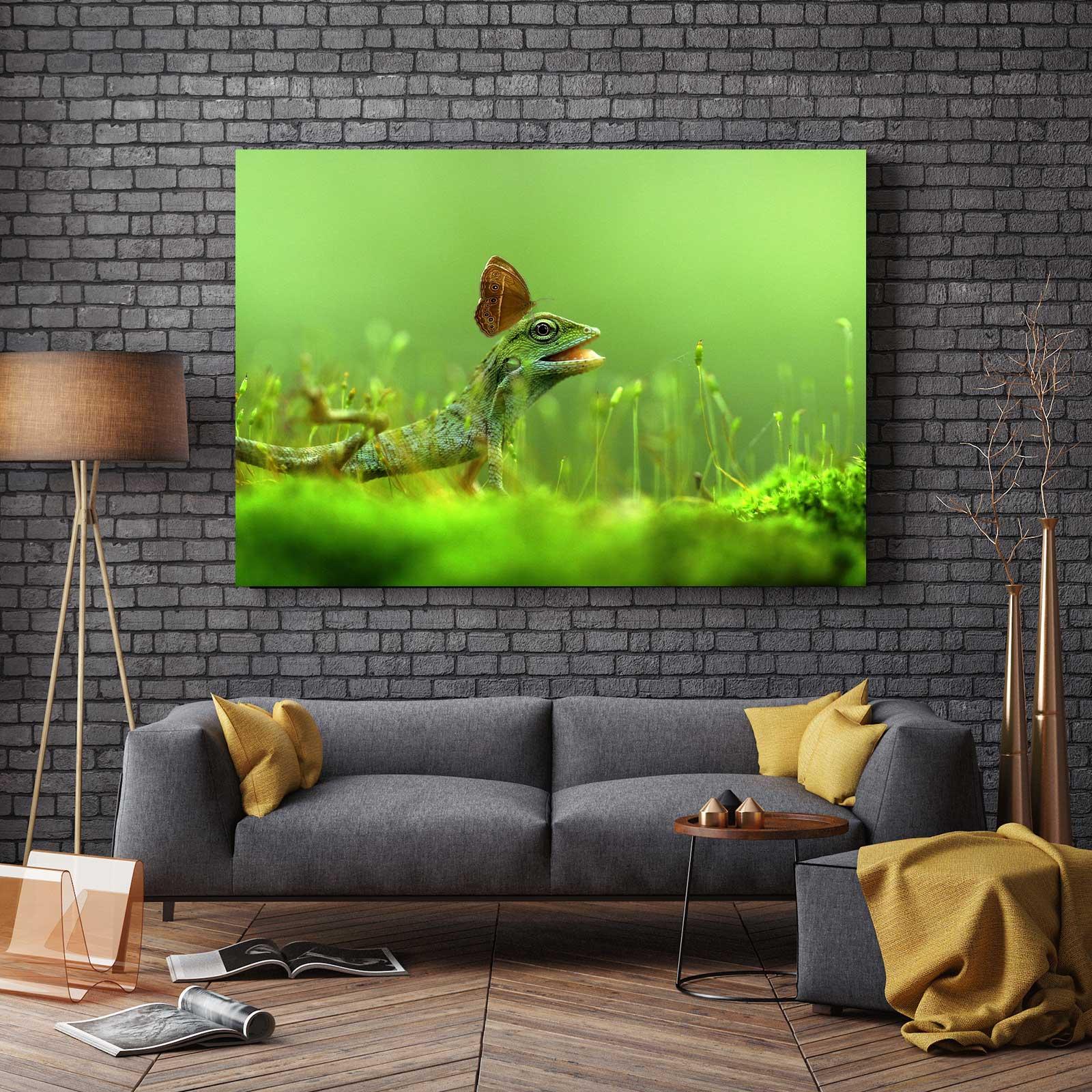 Tablou Canvas - Lizard [2]