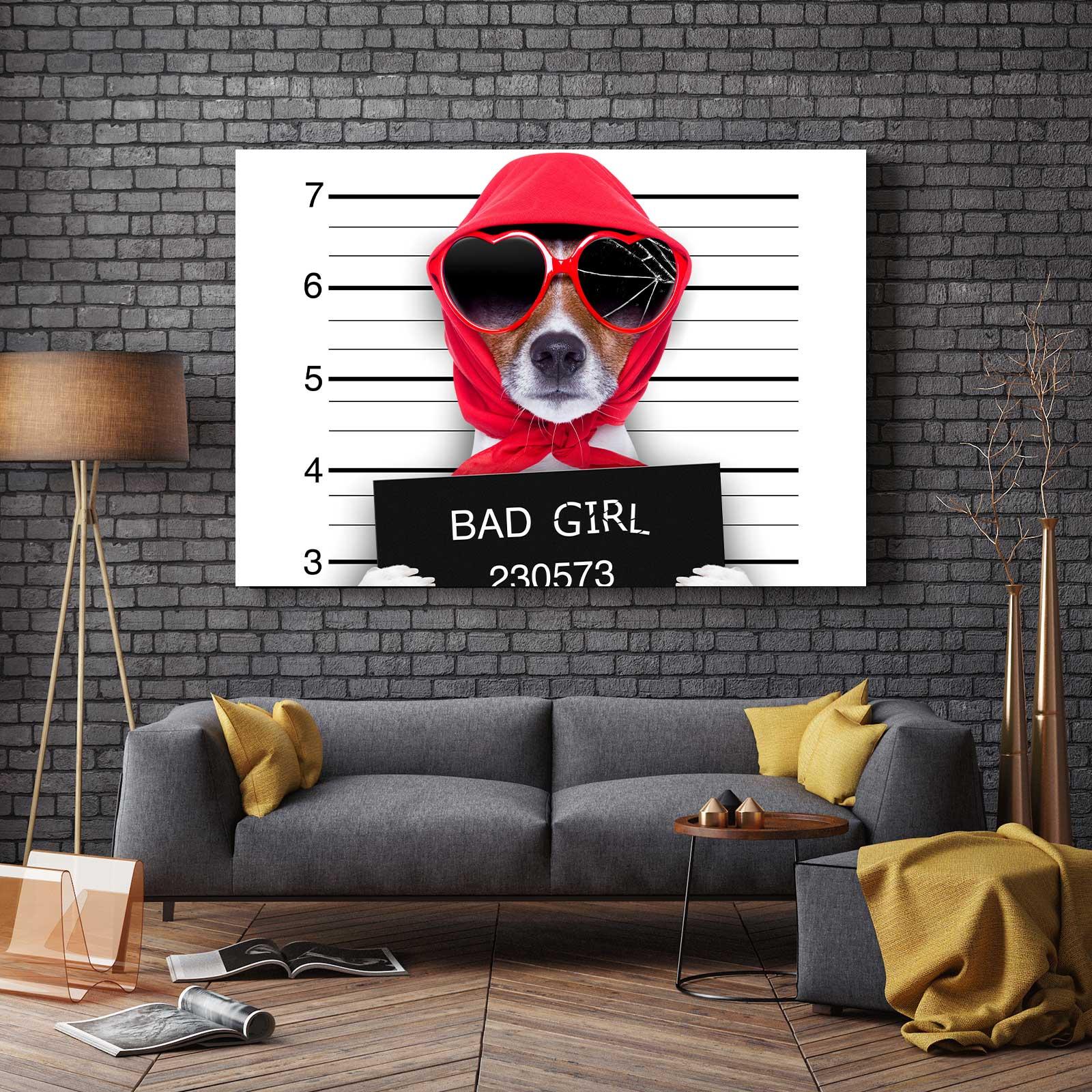 Tablou Canvas - Bad Dog 2