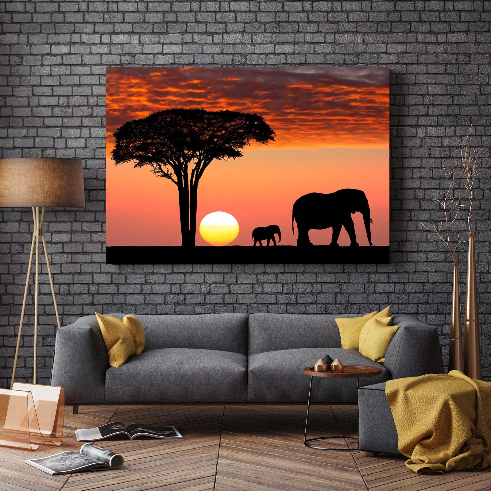 Tablou Canvas - Safari Life 2