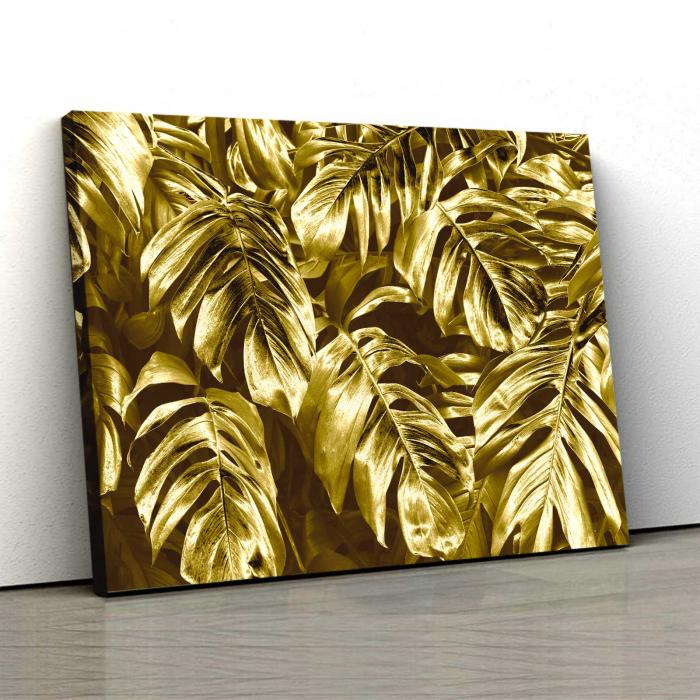 Tablou Canvas - Gold Leaves 0