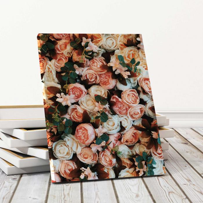 Tablou Canvas - Savage Roses 0