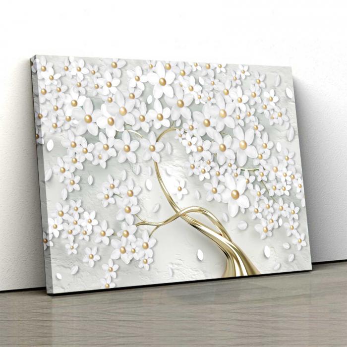 Tablou-canvas-copac-cu-flori-albe 0