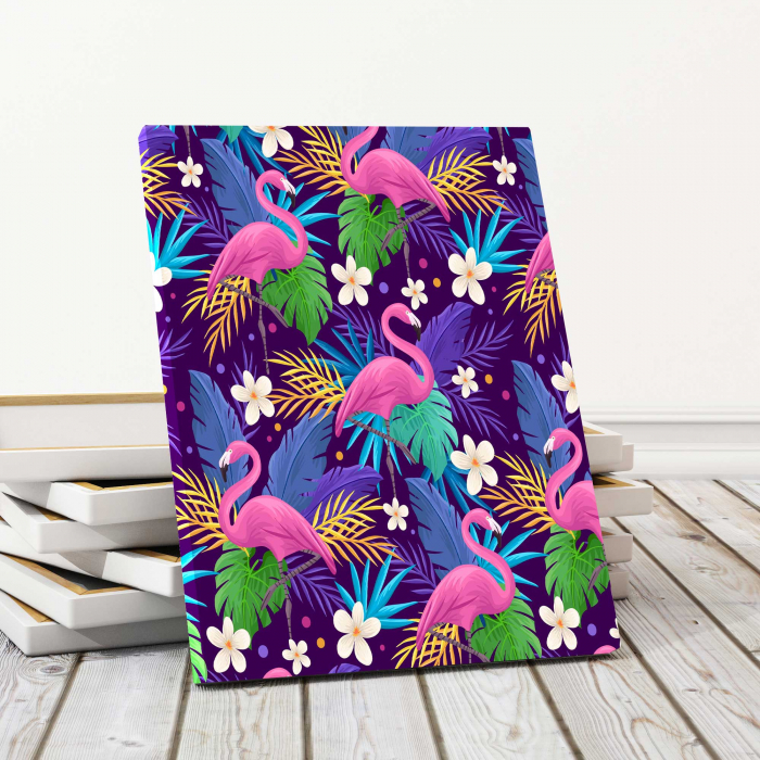 Tablouri Canvas Copii - Flamingo 0