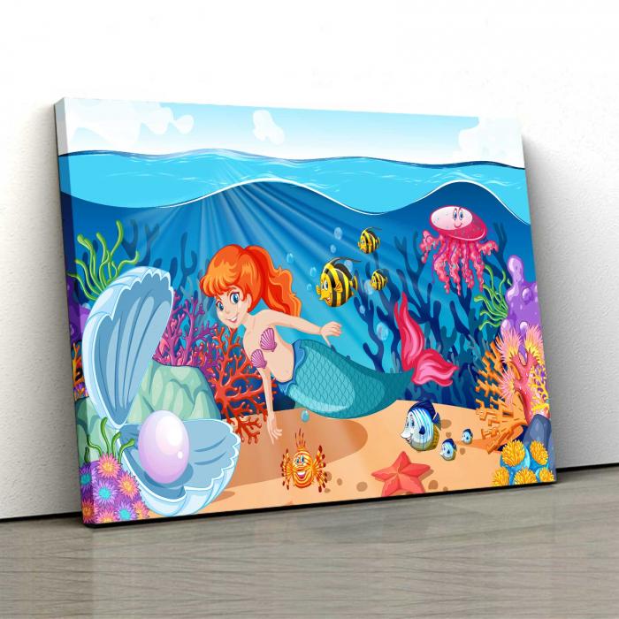 Tablou Canvas Copii - Sirena [0]