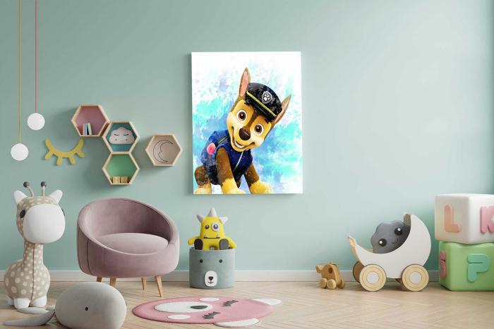Tablou Canvas Copii - Happy Dog [2]