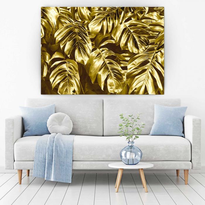 Tablou Canvas - Gold Leaves 1