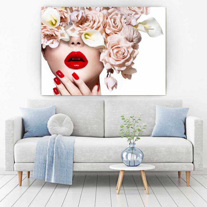 Tablou Canvas - I Love Flowers 1