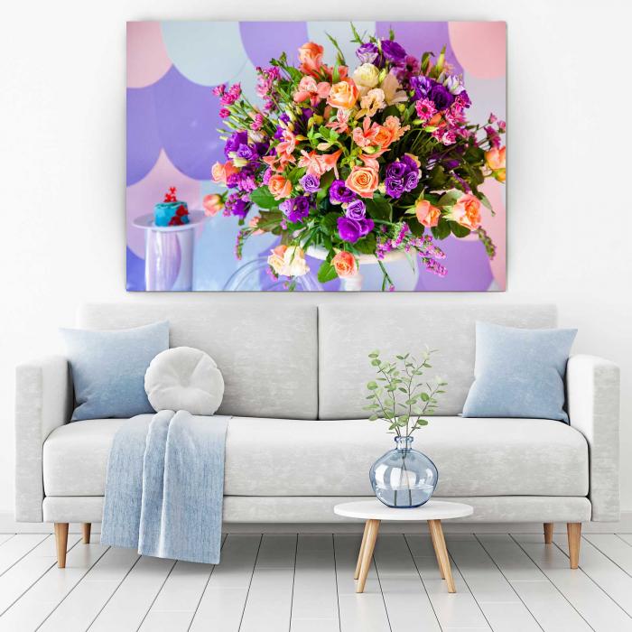 Tablou Canvas Floral Bloom 1