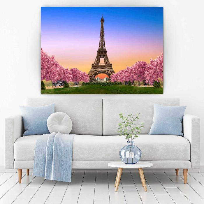 Tablou Canvas Paris, te ador 1