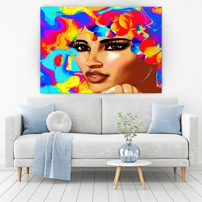 Tablou Canvas - 3D Beauty [1]