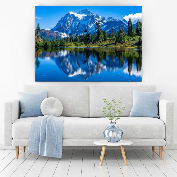 Tablou Canvas - Mystical Mountains [1]