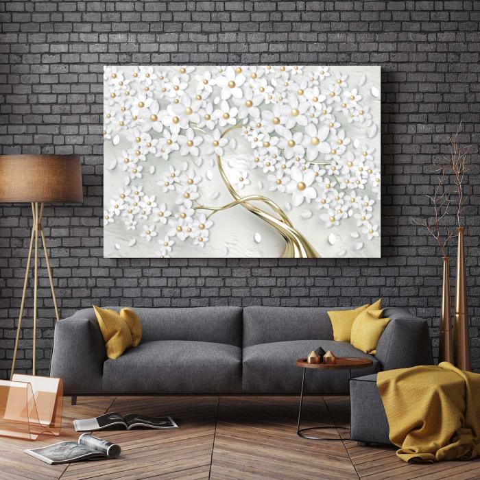 Tablou-canvas-copac-cu-flori-albe 2