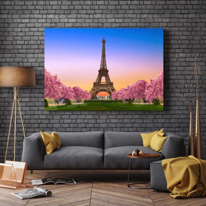 Tablou Canvas Paris, te ador 2