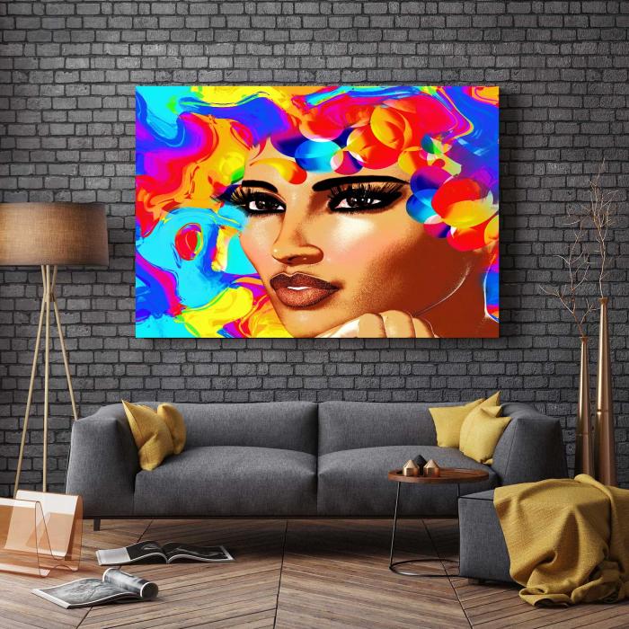 Tablou Canvas - 3D Beauty [2]
