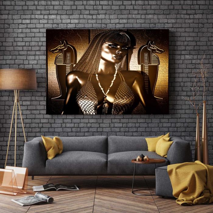 Tablou Canvas - Modern Nefertiti 2
