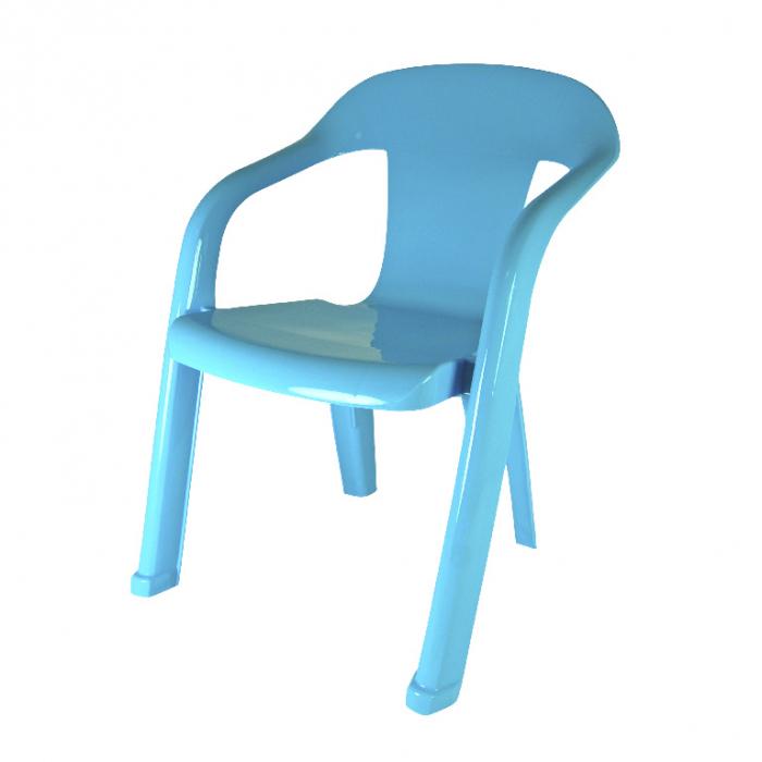 Scaun pentru copii, albastru, polipropilena [0]