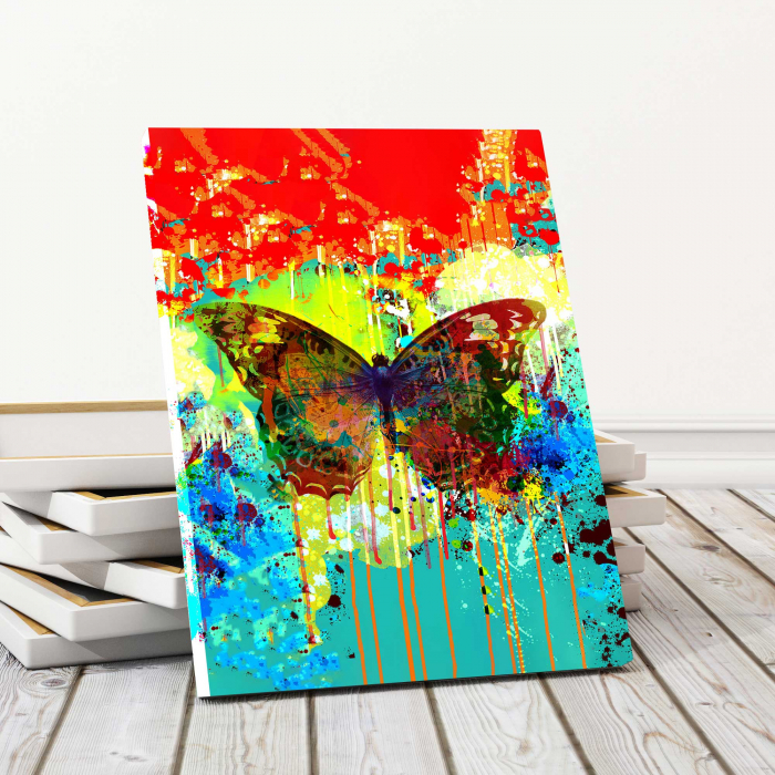 Tablou Canvas - Abstract Butterfly 0