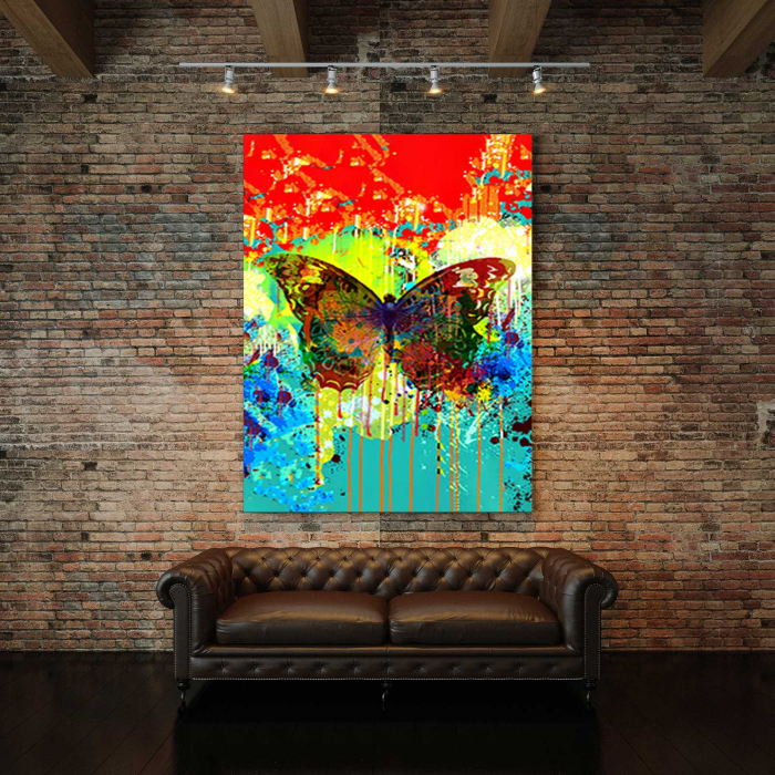 Tablou Canvas - Abstract Butterfly 2