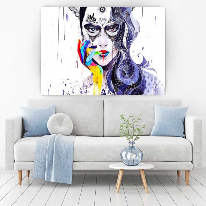 Tablou Canvas - Abstract Girl [1]