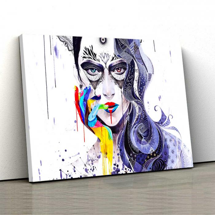 Tablou Canvas - Abstract Girl [0]