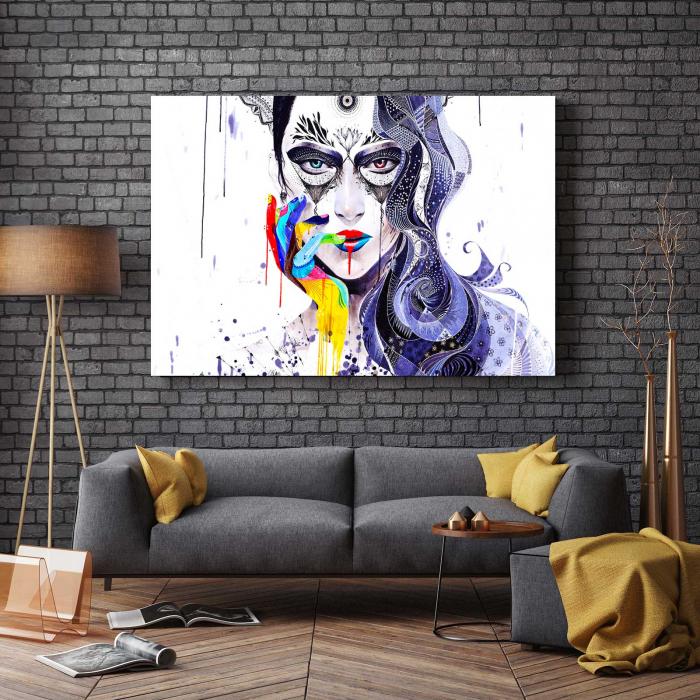 Tablou Canvas - Abstract Girl [2]