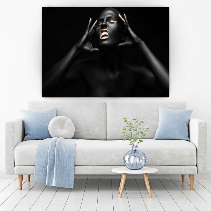Tablou Canvas - Afro Girl [1]