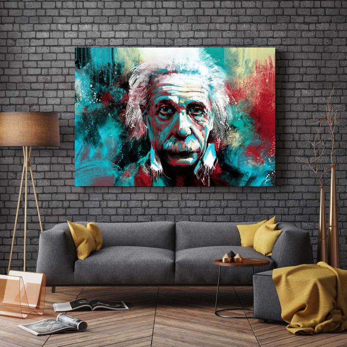 Tablou Canvas - Albert Einstein 2