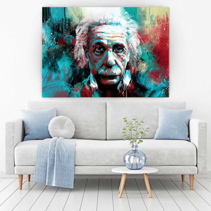 Tablou Canvas - Albert Einstein 1