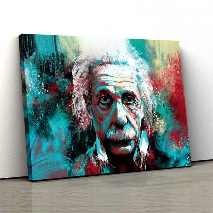 Tablou Canvas - Albert Einstein 0